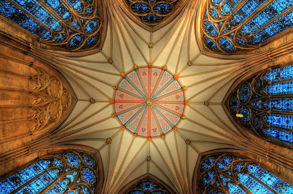 Chapter House, York Minster. by KCLam