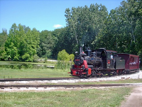 German steam in Indiana. The Hesston Steam Museum. Hesston Indiana. July 2007. by Eddie from Chicago