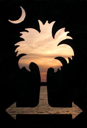 sunset southcarolina crescent beaufort palmetto nikoncoolpix4500 mywinners woodsmemorialbridge ektakonaelska