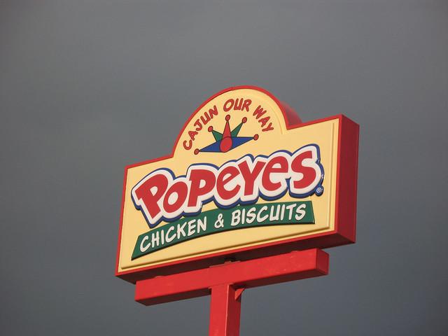 Popeyes fried chicken logo - photo#47