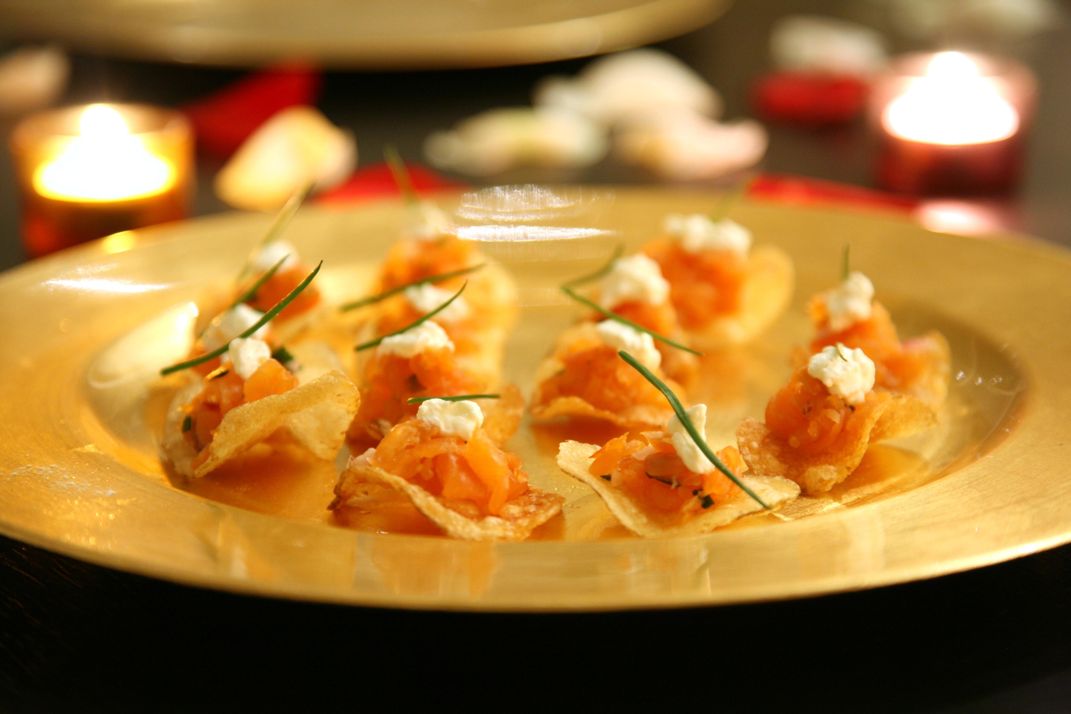 Smoked salmon canapes | Flickr - Photo Sharing!