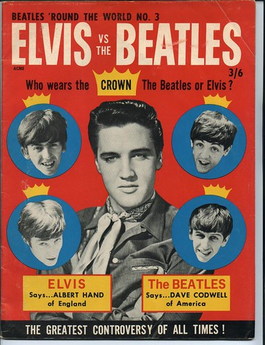 Elvis vs The Beatles