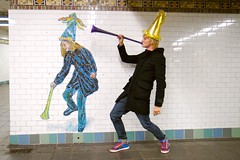 """MTA Arts for Transit presents """"The Revelers"""" by Jane Dickson"""