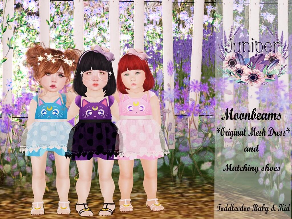 {Juniper} Moonbeams @ Feb Color Me Cute - SecondLifeHub.com