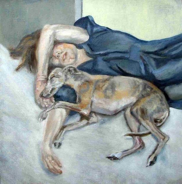 Lucian Freud Dog Freud Lucian 1922 1985