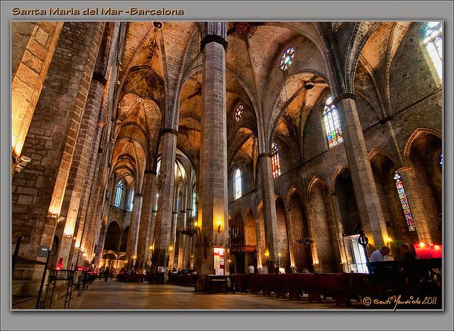 Basilica de Santa Maria del Mar  Flickr - Photo Sharing!