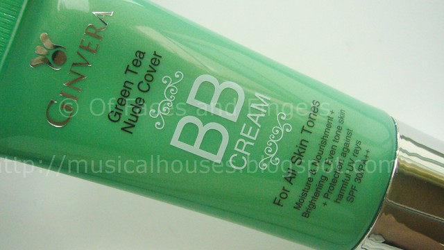 ginvera green tea nude cover bb cream