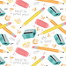 Daily Pattern - Writing Utensils
