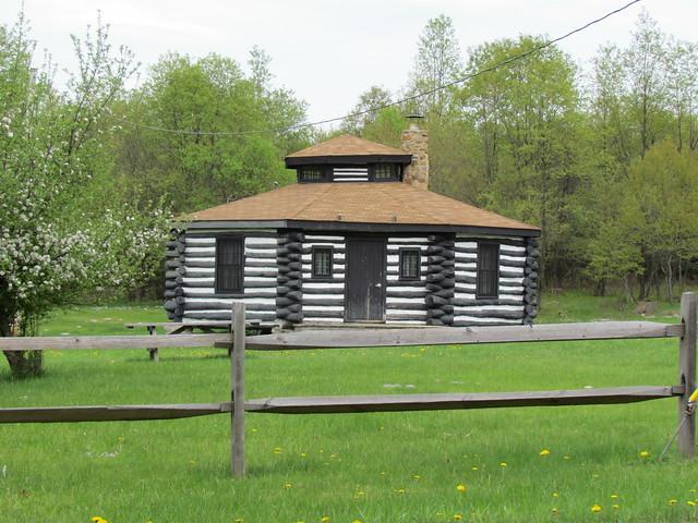 octagonal log cabin flickr photo sharing