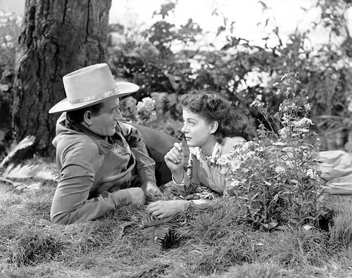 John Wayne / Gail Russell