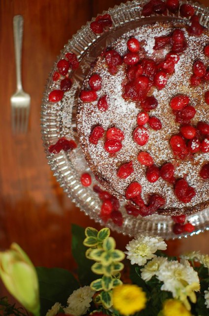 Dessert: Martha Stewart's Cranberry, Almond, and Cinnamon Tart ...