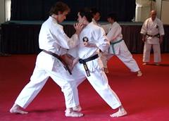 Karate warmups