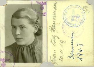 1943 German Passport