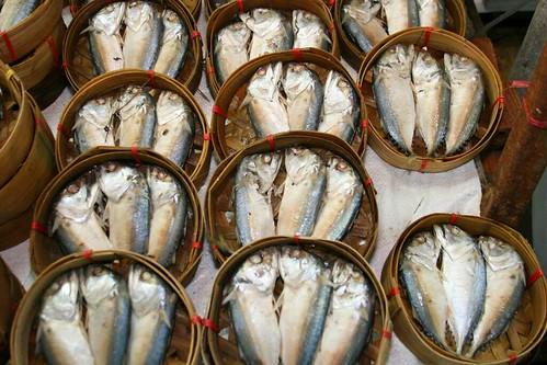 Pla Tu Nueng (Steamed Mackeral) ปลาทูนึ่ง