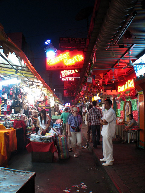 how to go to patpong night market