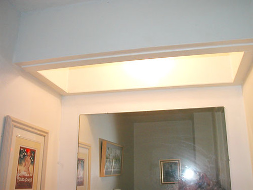 Bathroom soffit