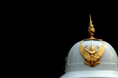 garuda on helmet