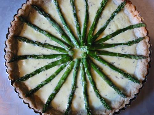 Asparagus & Gruyere Tart 5