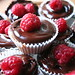 raspberry and chocolate cupcakes by silamuta
