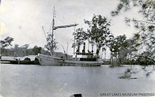 Steamer 'Jap' (1911 - 1934) at Breckenridge sawmill, Failford NSW.