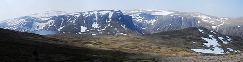 View from Beinn Mheadhoin (1182m)