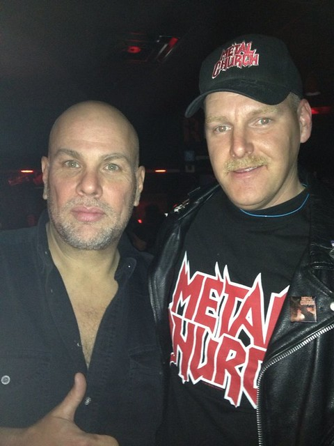 03/06/14 Officer Metalhead-Kurt Vanderhoof (Metal Church) @ Revolution Bar, Amityville, LI, NY