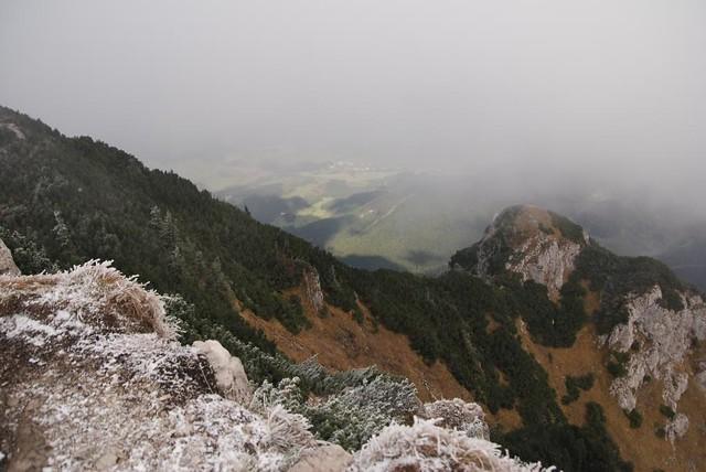 pohľad z omrznutého Choča do doliny 2