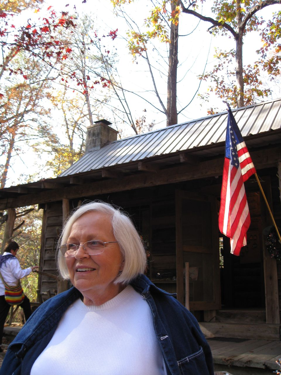 Grandma and Cabin