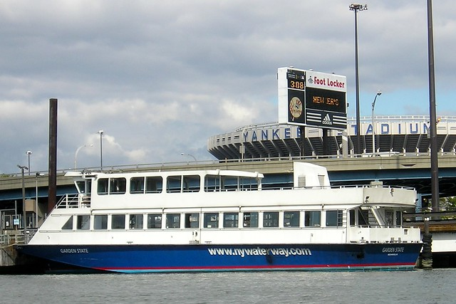 Ny waterway ferry docked at yankee stadium south bronx nyc flickr