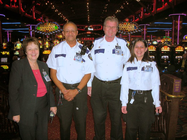 casino security officer