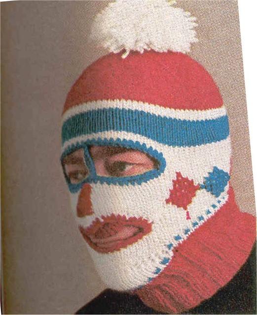 Ski Mask Knitting Pattern : Mans ski mask Vintage knitting pattern from McCalls Need? Flick...