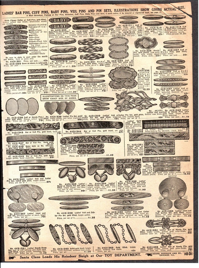86ef25092d A Vintage Sears Catalog Jewelry Page! - Free to use!