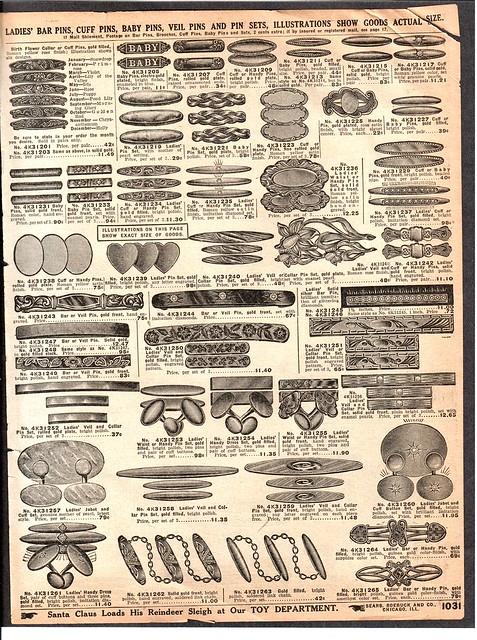 A vintage sears catalog jewelry page free to use for Gardening tools 94 game answers