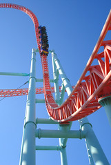playground slide(0.0), water park(0.0), park(0.0), recreation(1.0), outdoor recreation(1.0), leisure(1.0), amusement ride(1.0), roller coaster(1.0), amusement park(1.0),