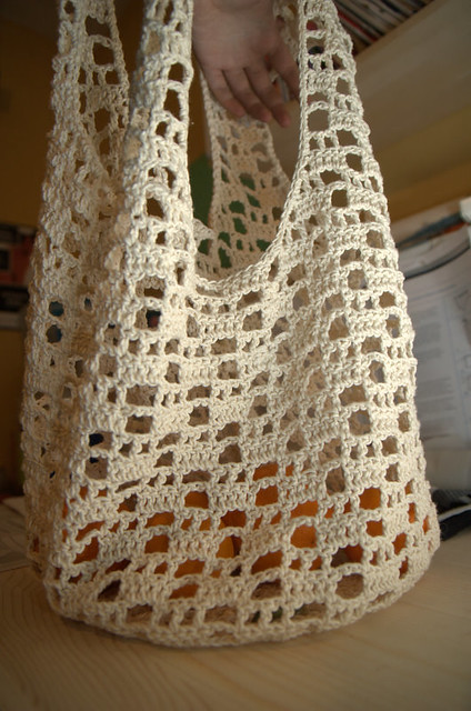 Crochet Shopping Bag Flickr - Photo Sharing!