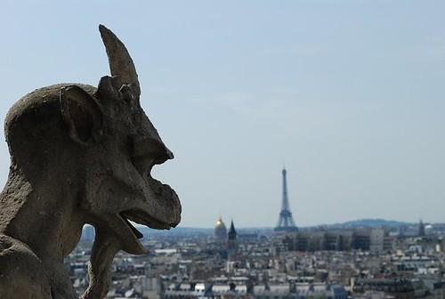 Gárgola Notre Dame 1  - Paris
