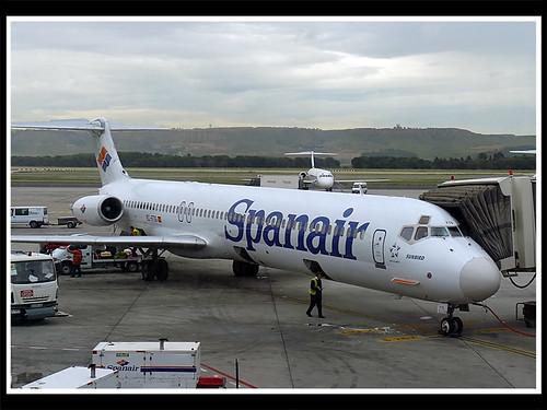 "EC-FTS MD83 Spanair ""sunbird"""