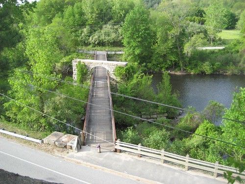 morning bridge usa waterfall connecticut newengland ct bum condom northeast cushion canalstreet putnam putnamct riverwalkingtrail