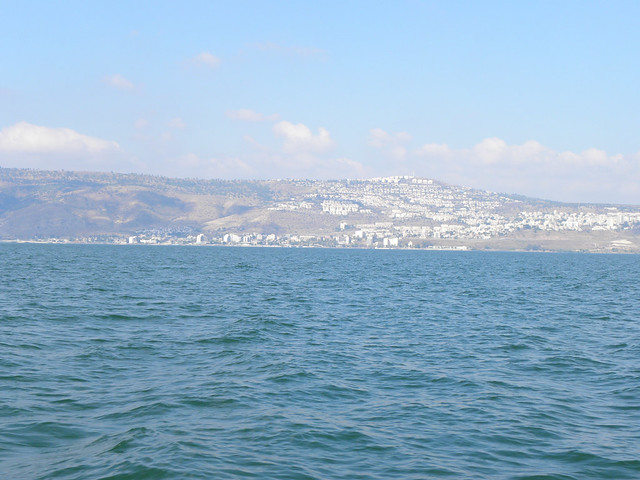 Tiberias from the Sea of Galilee by Ian W Scott, on Flickr