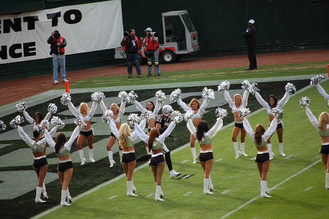 1983 Raiderettes http://www.flickr.com/photos/bigdogwoody2000/2088388104/