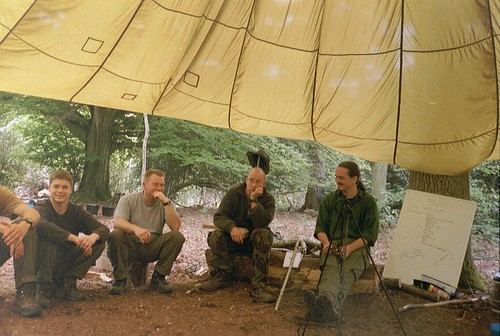 Bushcraft award giving