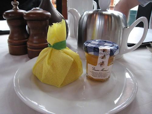 napa, calistoga ranch, tea, lemon, honey IMG_1305
