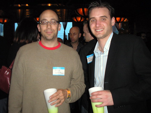 Dick Costolo and Frank Gruber
