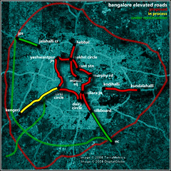 bangalore elevated roads