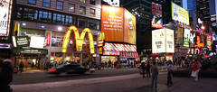 Times Square panoramic