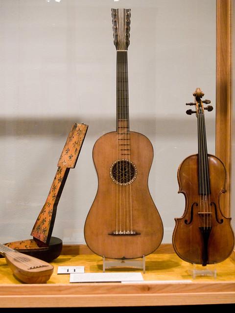 Photo:Stradavarius Guitar, violin, mandolin and case By ljguitar