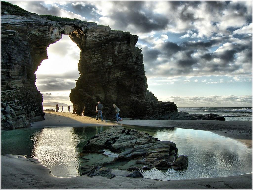 Praia de Augas Santas испания