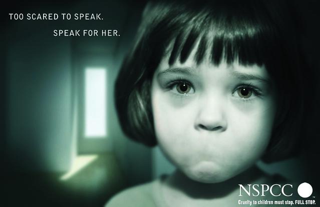 Child Abuse Advertisement