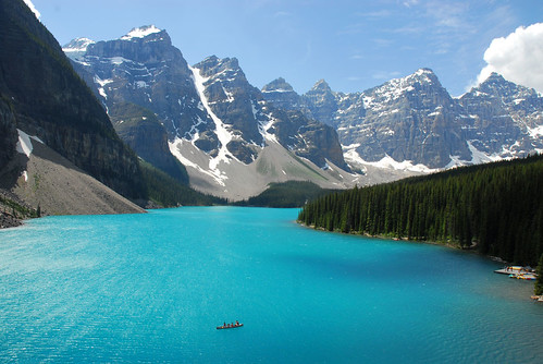 A Better Place for a Banff Canoe Ride