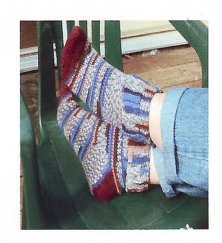 Basic crocheted socks - Holiday Countdown - Canadian Living